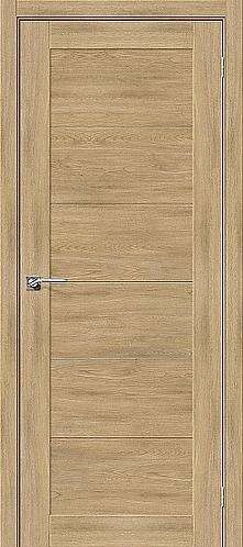 Межкомнатная дверь экошпон L-21 / Органик дуб