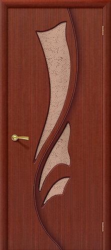 Межкомнатная дверь Лилия ДО/ макоре