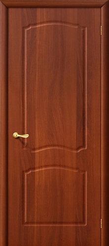 Межкомнатная дверь с покрытием ПВХ Альфа ДГ / итальянский орех