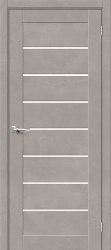 Межкомнатная дверь с покрытием 3D Б-22 /Gris Beton