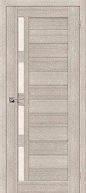 Межкомнатная дверь экошпон ST-25 / Cappuccino Veralinga