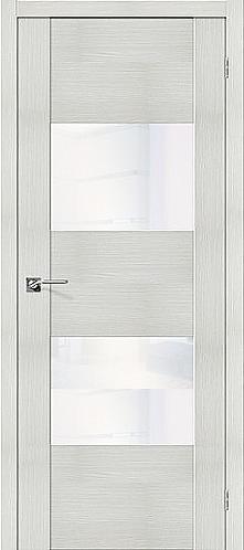 Межкомнатная дверь экошпон VG2 / Bianco Veralinga