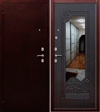 входная дверь Ампир (антик медь/венге)