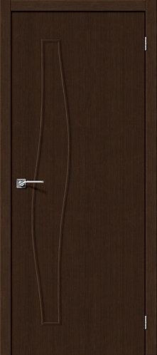 Межкомнатная дверь с покрытием 3D М-7 / 3D Wengе