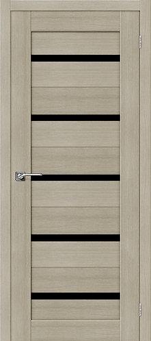 Межкомнатная дверь экошпон ST-1 Black / неаполь