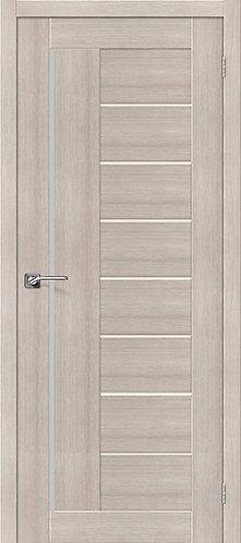 Межкомнатная дверь экошпон ST-9m / Cappuccino Veralinga
