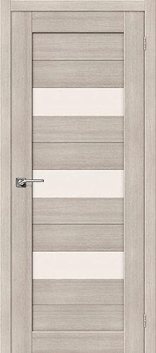 Межкомнатная дверь экошпон ST-8 / Cappuccino Veralinga