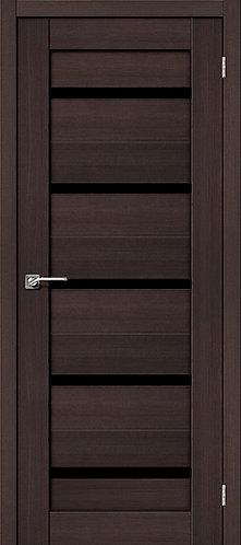 Межкомнатная дверь экошпон ST-1 Black / Wenge Veralinga