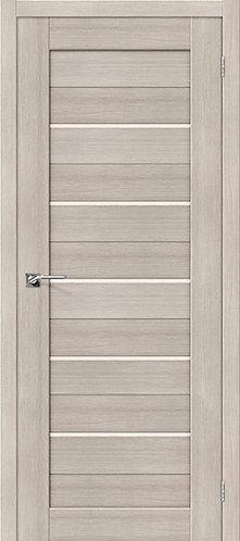 Межкомнатная дверь с покрытием 3D R-22 / 3D Cappuccino