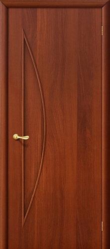 Ламинированная межкомнатная дверь Луна ДГ / итальянский орех