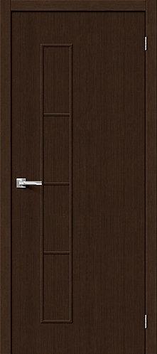 Межкомнатная дверь с покрытием 3D Т-3 / 3D Wengе