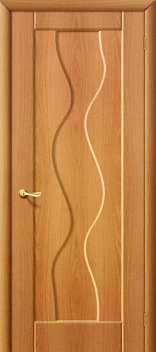 Межкомнатная дверь с покрытием ПВХ Вираж ДГ / миланский орех