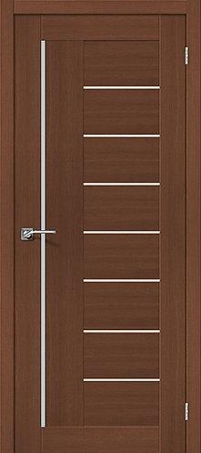 Межкомнатная дверь экошпон ST-9m / орех