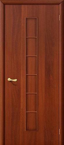 Ламинированная межкомнатная дверь Лесенка ДГ / итальянский орех