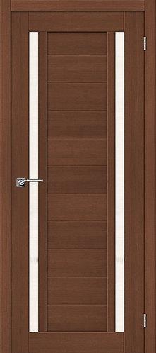 Межкомнатная дверь экошпон ST-6 / орех