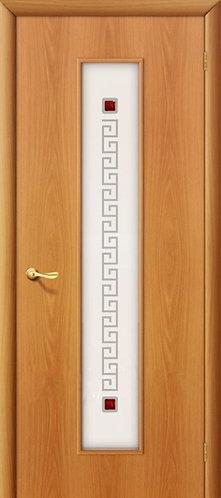 Ламинированная межкомнатная дверь Тиффани-1 / миланский орех