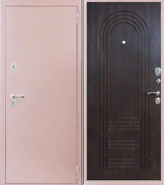входная дверь КАСКАД (антик капучино/венге)