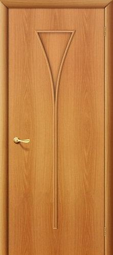 Ламинированная межкомнатная дверь Рюмка ДГ / миланский орех