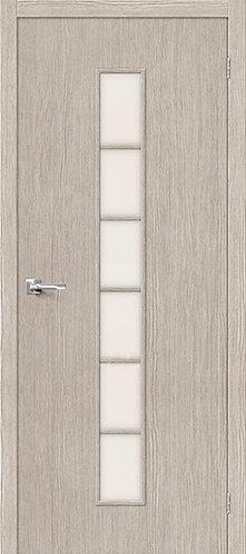 Межкомнатная дверь с покрытием 3D Т-12 / 3D Cappuccino
