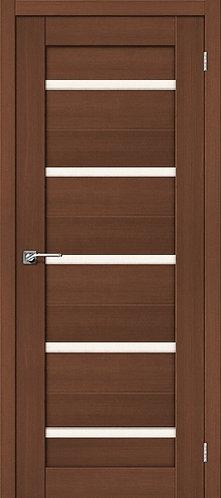 Межкомнатная дверь экошпон ST-1 / орех
