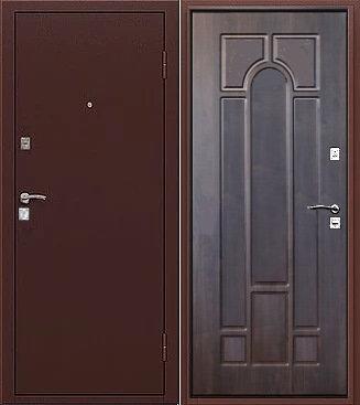 входная дверь Рим (антик медь/венге)