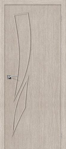 Межкомнатная дверь с покрытием 3D М-9 / 3D Cappuccino