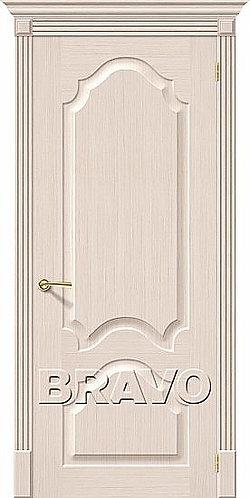 Межкомнатная дверь Афина ДГ/ беленый дуб