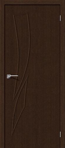 Межкомнатная дверь с покрытием 3D М-9 / 3D Wengе