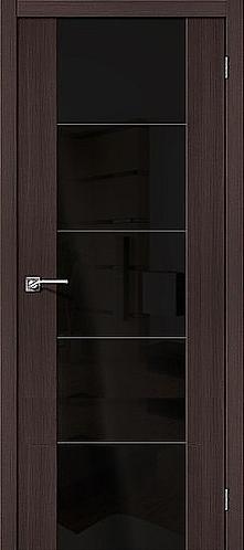 Межкомнатная дверь экошпон V4 / Wenge Veralinga