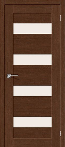 Межкомнатная дверь экошпон L-23 /Brown Oak