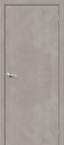 Межкомнатная дверь с покрытием 3D Б-0 /Gris Beton