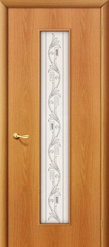 Ламинированная межкомнатная дверь Тиффани-4 / миланский орех