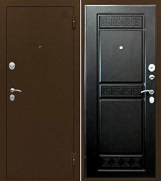 входная дверь Йошкар Ола ТРОЯ (антик медь/венге тисненый)