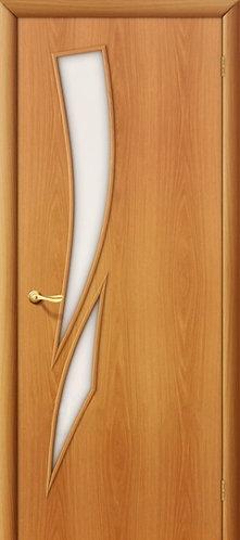 Ламинированная межкомнатная дверь  Стрелица ДО / миланский орех