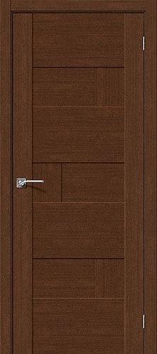 Межкомнатная дверь экошпон L-38 /Brown Oak