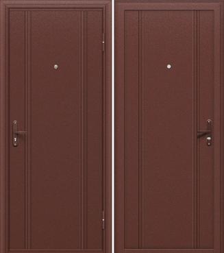 входная дверь DOOR OUT 101 (Антик Медь/Антик Медь)