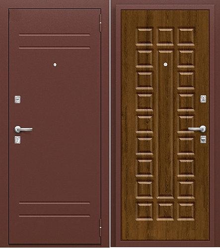 входная дверь Оптим Нова (Антик Медь/Французский Дуб)