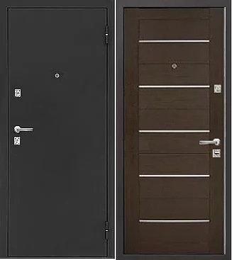 входная дверь Йошкар Ола Евро (антик серебро темное/венге)