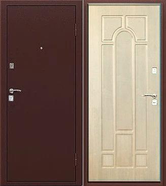 входная дверь Рим (антик медь/дуб)