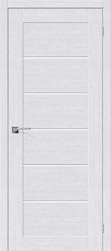 Межкомнатная дверь экошпон L-22 /Milk Oak