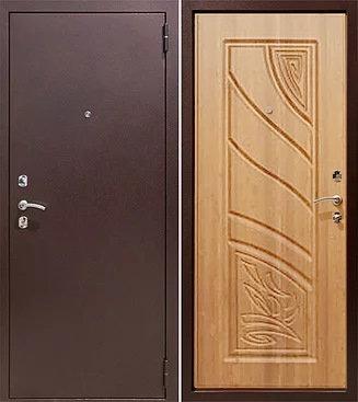 входная дверь Йошкар Ола Астра (антик медь/миланский орех)