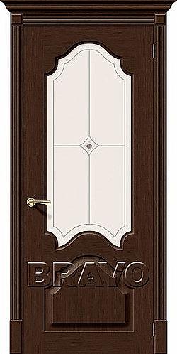 Межкомнатная дверь Афина ДО/ венге