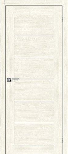 Межкомнатная дверь экошпон L-22 /Nordic Oak