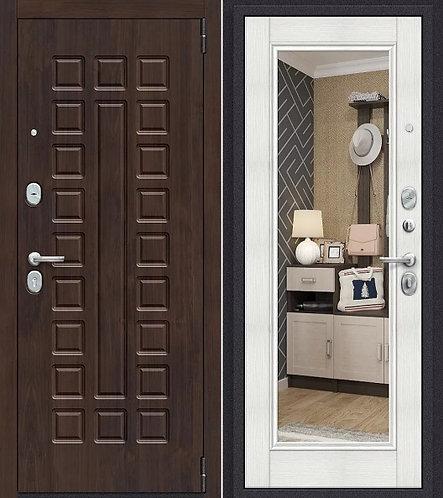 входная дверь Porta Урбан (Темная Вишня)/Bianco Veralinga