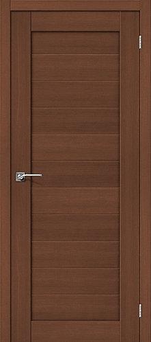 Межкомнатная дверь экошпон ST-4 / орех
