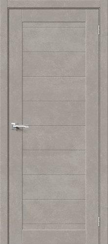 Межкомнатная дверь с покрытием 3D Б-21/ Gris Beton
