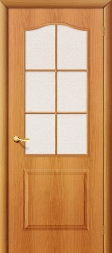 Ламинированная межкомнатная дверь Палитра ДО / миланский орех