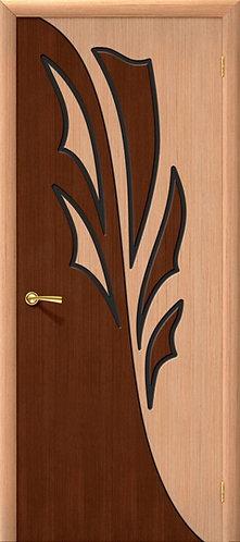 Межкомнатная дверь Дуэт ДГ/ дуб