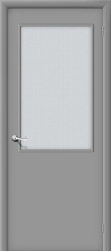 Ламинированная межкомнатная дверь ГОСТ ПО2 /серый