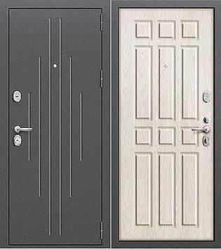 входная дверь Р3-215 беленый дуб